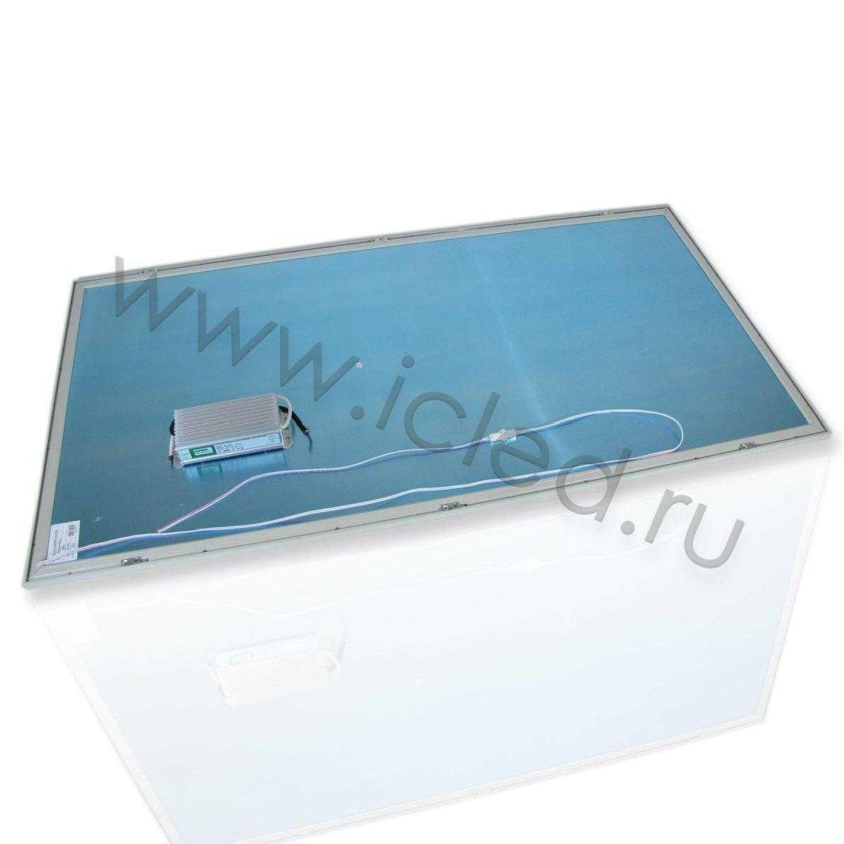 Светодиодная панель 600x1200 (90W, 220V, Warm White)