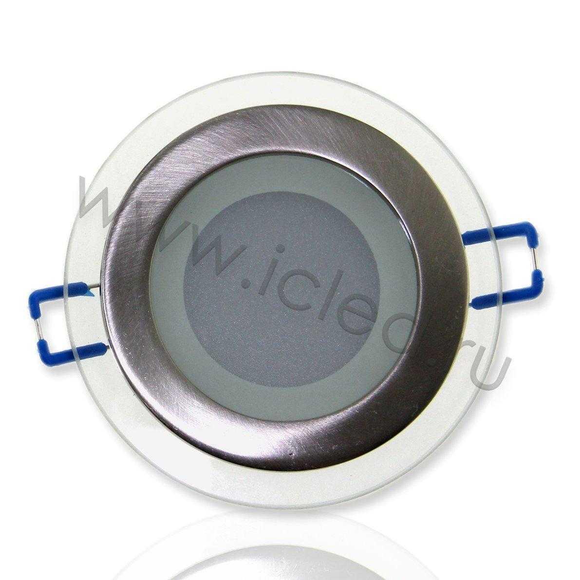 Светодиодный светильник потолочный IC-RS D100 (6W, Warm White)