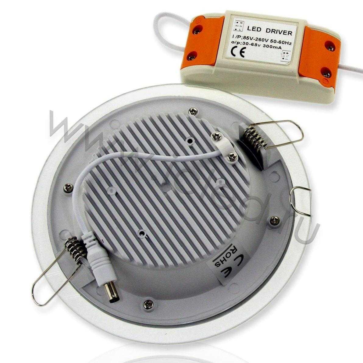 Светодиодный светильник потолочный IC-RW D160 (12W, White)