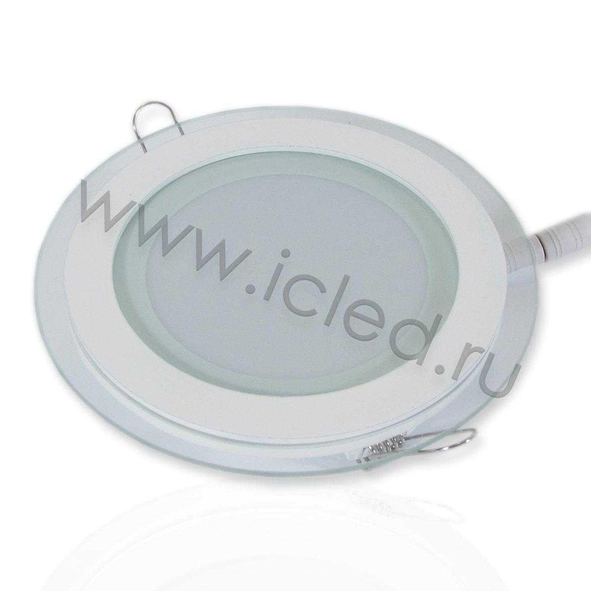 Светодиодный светильник потолочный IC-RW D160 (12W, Warm White)