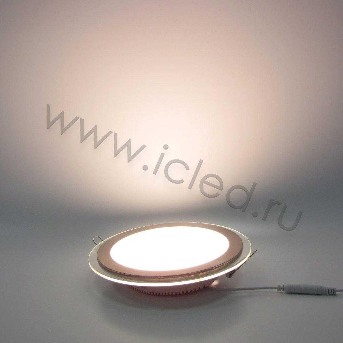 Светодиодный светильник потолочный IC-RS D200 (15W, Warm White)