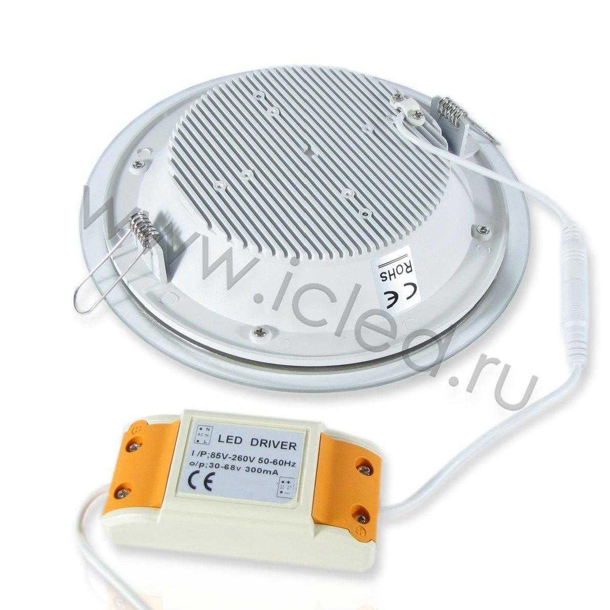 Светодиодный светильник потолочный IC-RS L200 (15W, White)