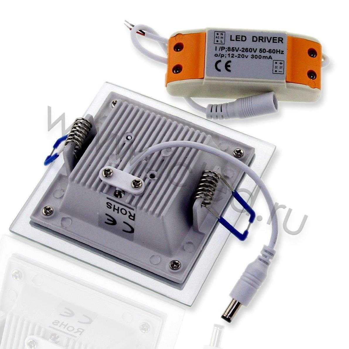 Светодиодный светильник потолочный IC-SW L100 (6W, White)