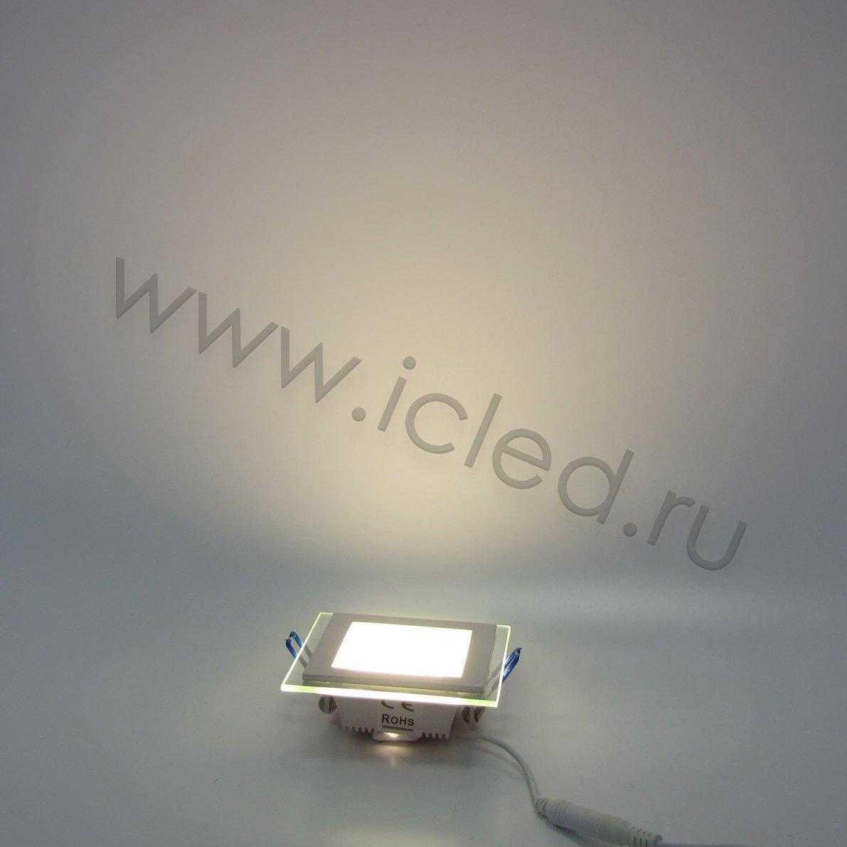 Светодиодный светильник потолочный IC-SW L100 (6W, Warm White)