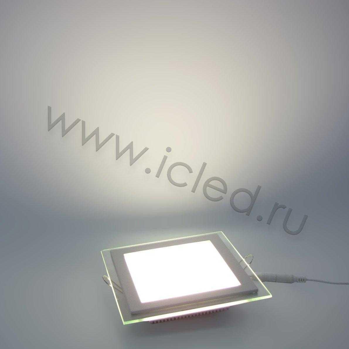 Светодиодный светильник потолочный IC-SW L160 (12W, Warm White)