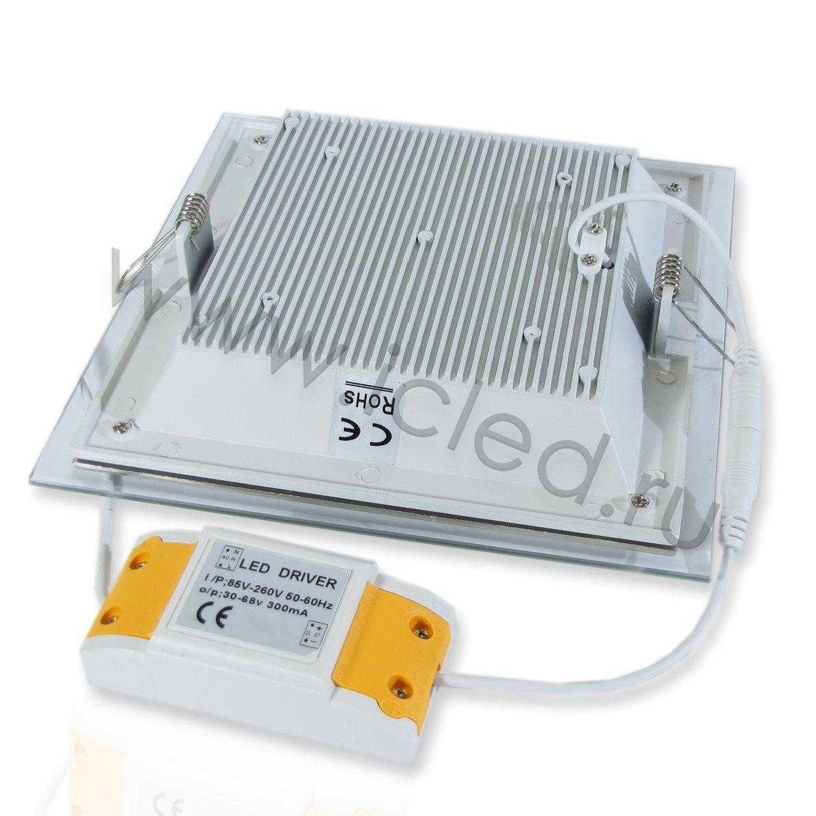 Светодиодный светильник потолочный IC-SS L200 (15W, Warm White)