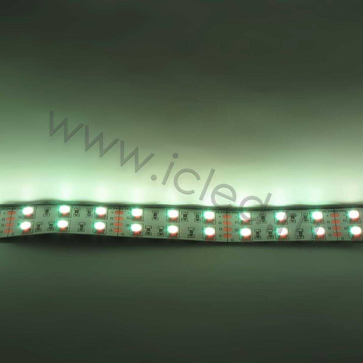Светодиодная лента Class B, 5050, 120 led/m, RGB, 24V, IP33