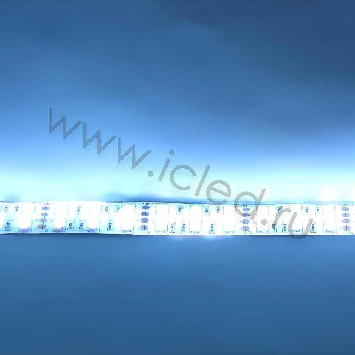 Светодиодная лента Class B, 5050, 120 led/m, RGB, 24V, IP65