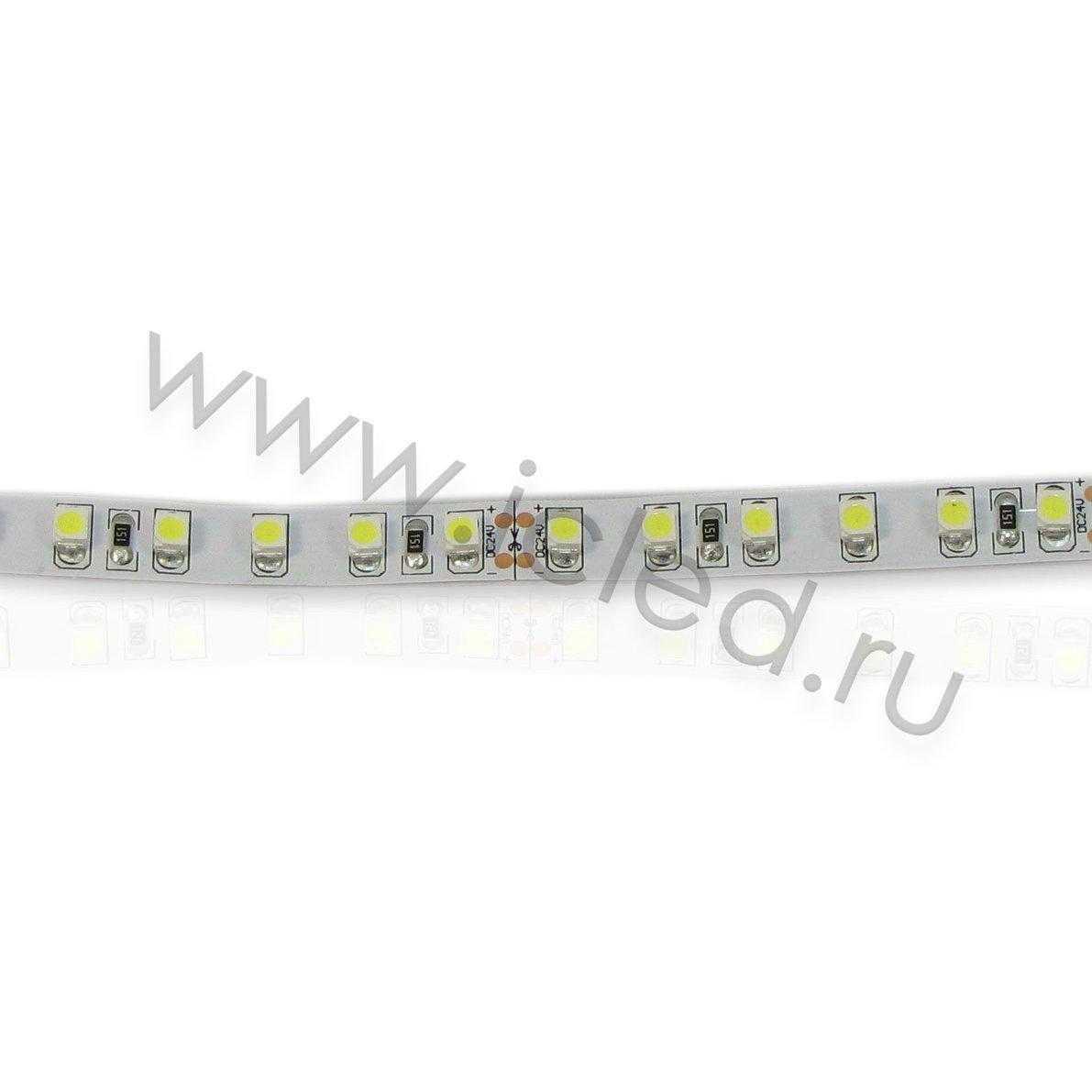 Светодиодная лента Class B, 3528, 120 led/m, White, 24V, IP33