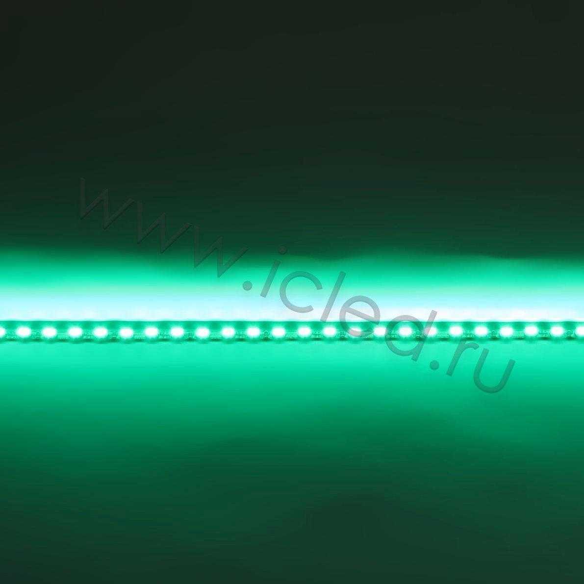Светодиодная линейка для LCD, 3020, 48led, Green, 12V, IP33