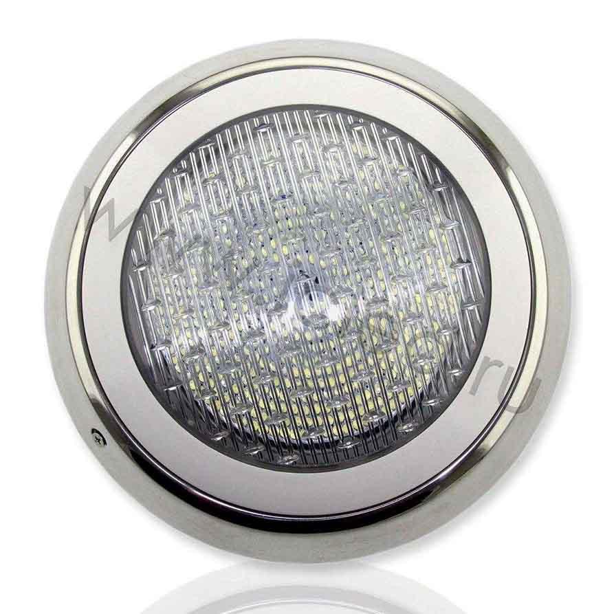 Светодиодный светильник для бассейна (30W, 12V, Blue) IP68