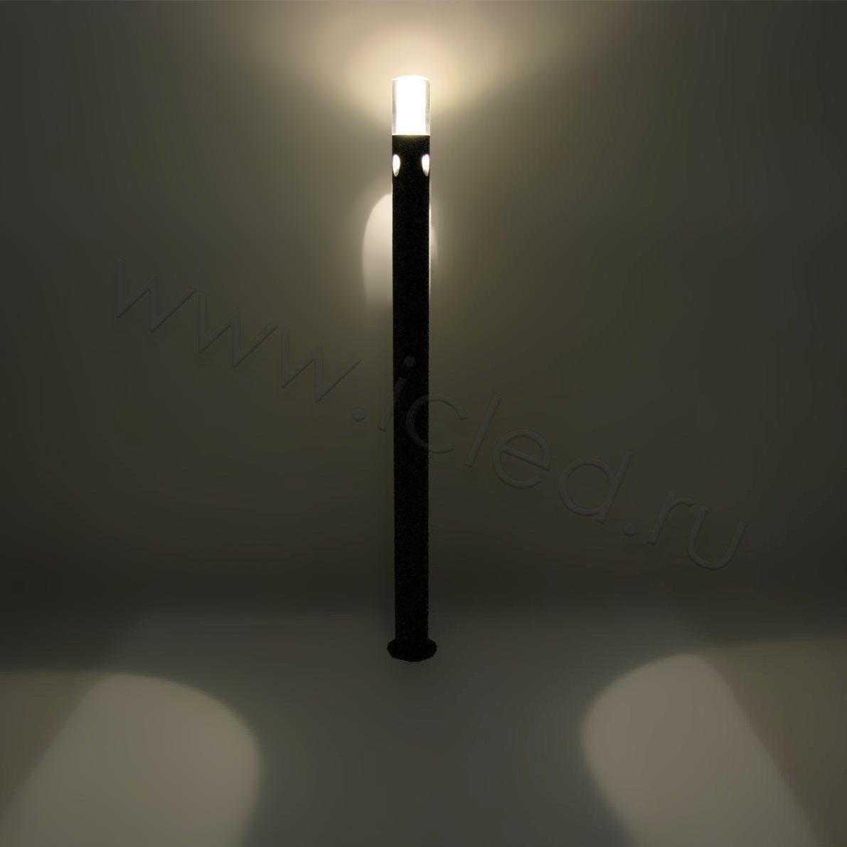 Светодиодный светильник столбик UCR7802D-1000 BA, Warm White