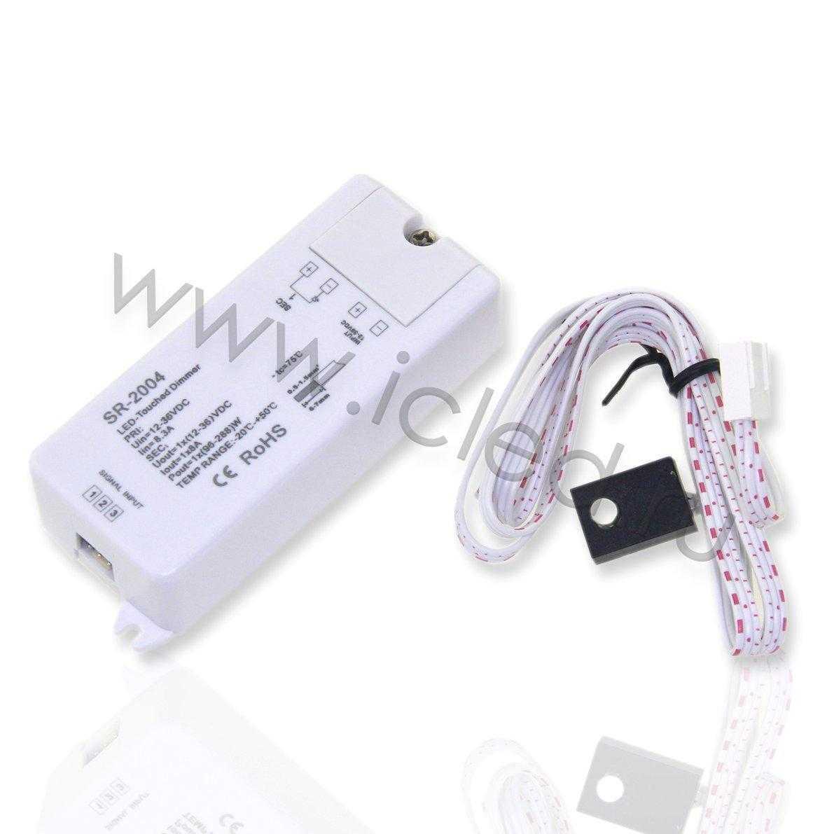 Диммер SR-2004 sensor (12-36V, 96-288W)