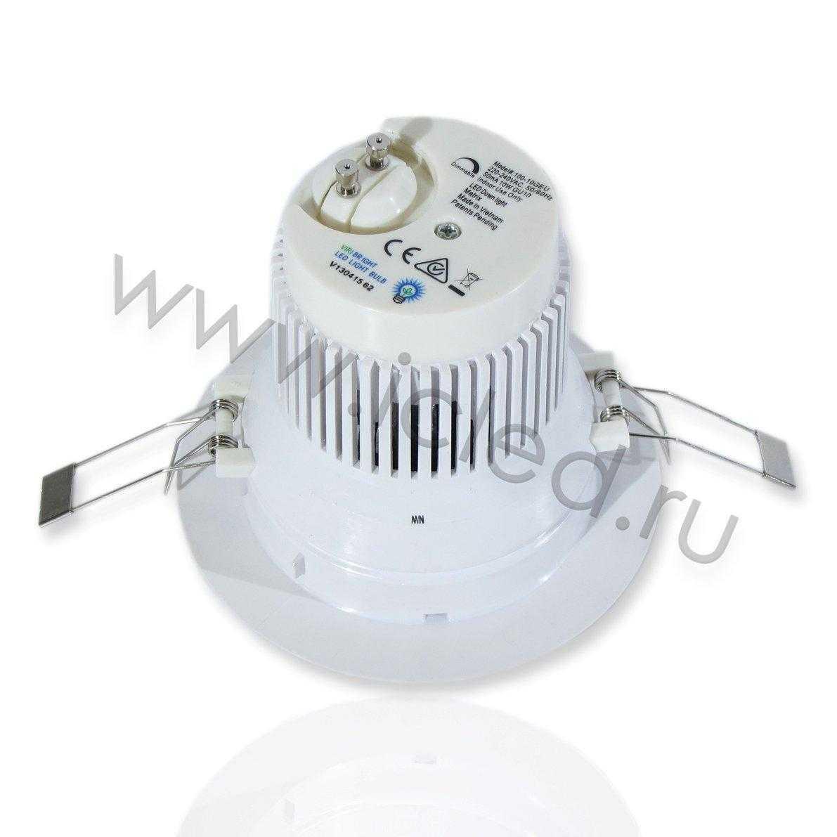Светодиодный светильник потолочный MT-R (10W, Dimm Day White)
