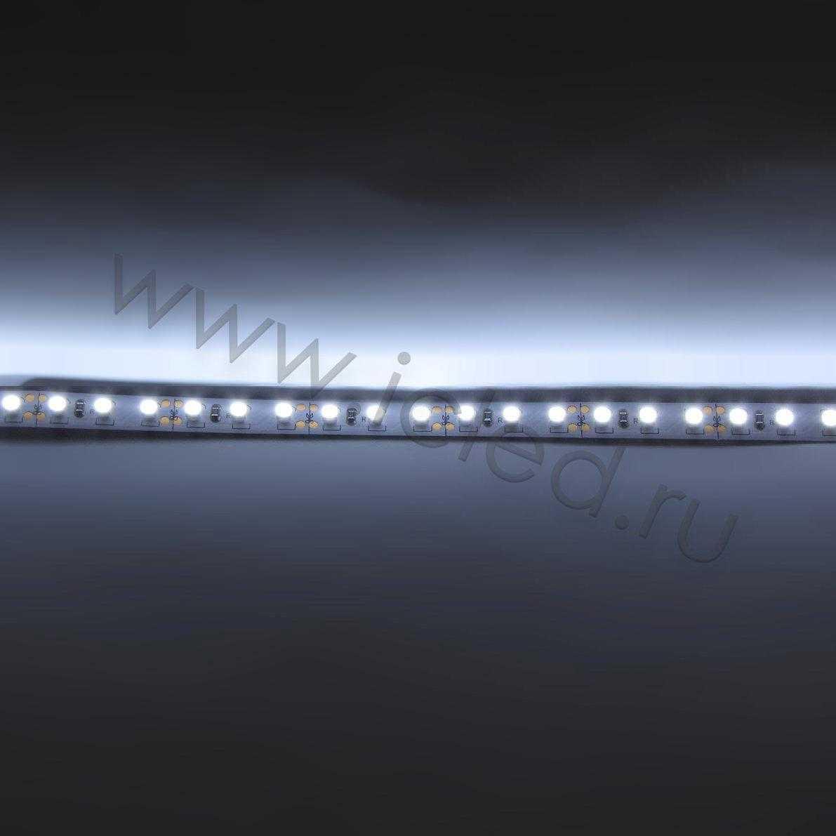 Светодиодная лента Econom class, 3528, 120led/m, White, 12V, IP33