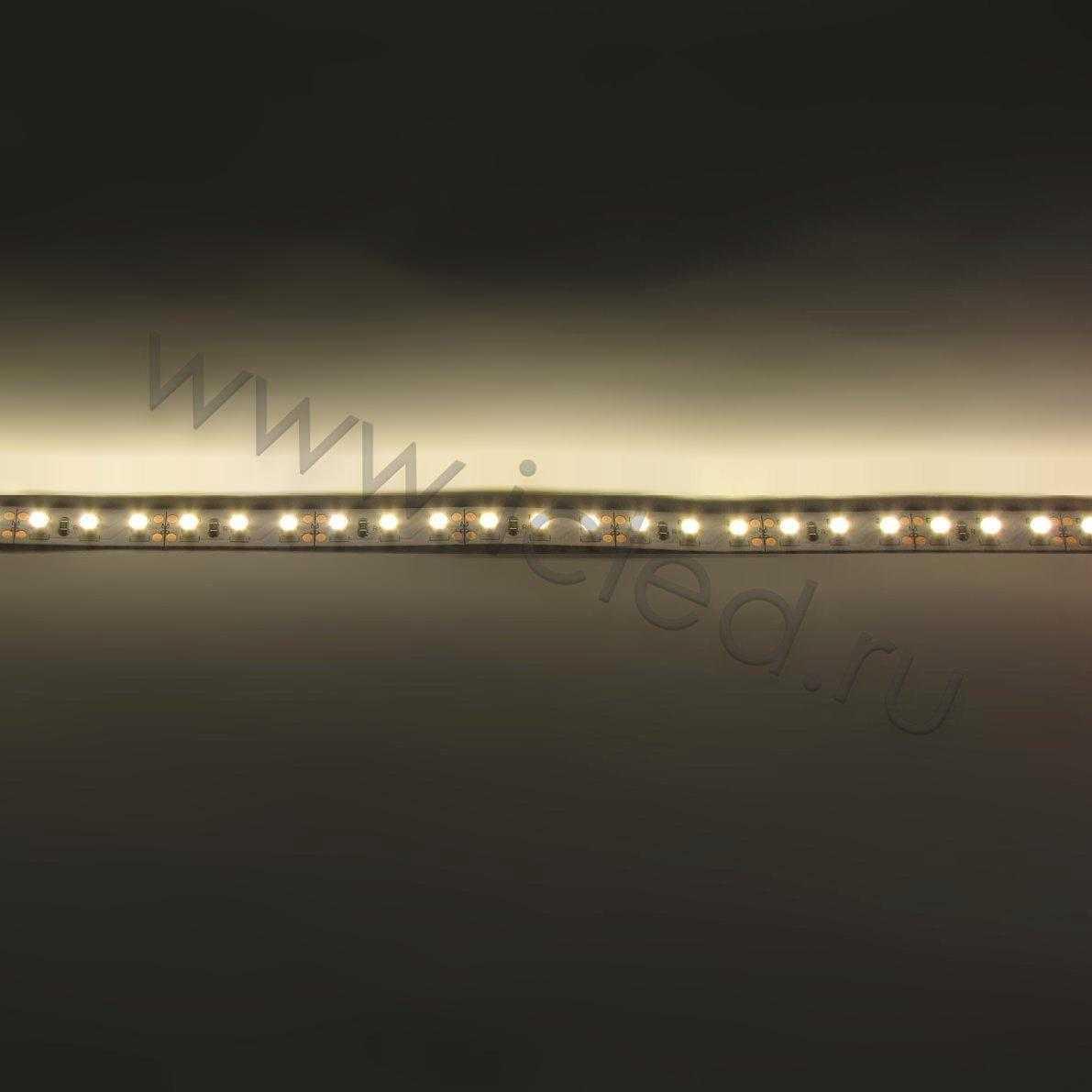 Светодиодная лента Econom class, 3528, 120led/m, Warm White, 12V, IP33