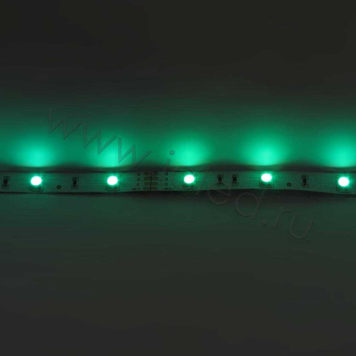 Светодиодная лента Econom class, 5050, 30led/m, RGB, 12V, IP33