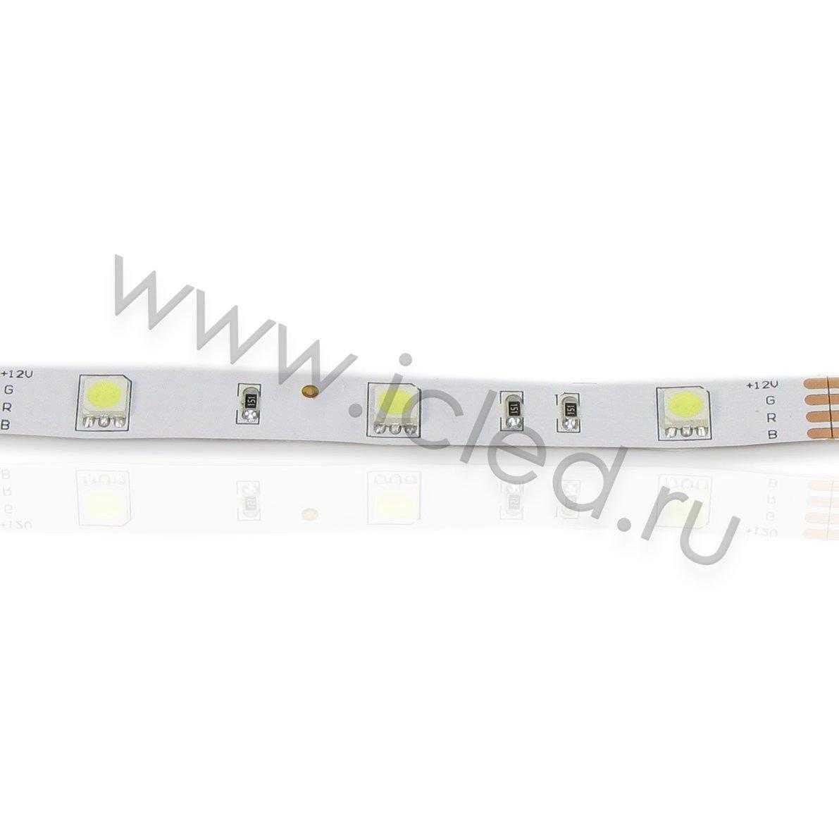 Светодиодная лента Econom class, 5050, 30led/m, White, 12V, IP33