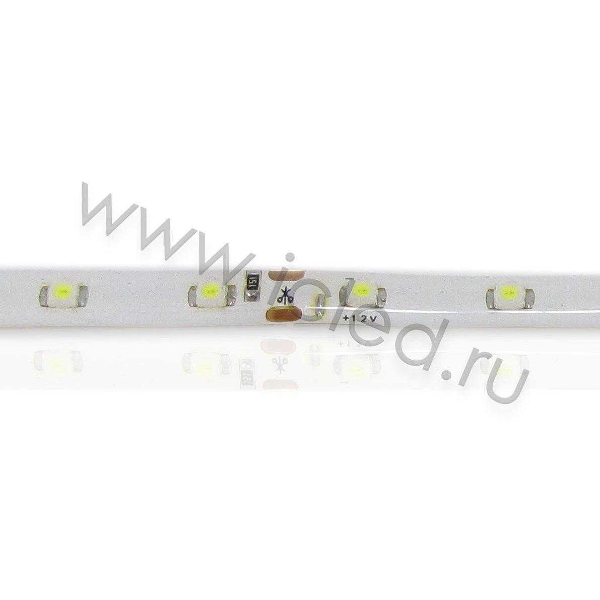 Светодиодная лента Econom class, 3528, 60led/m, White, 12V, IP65