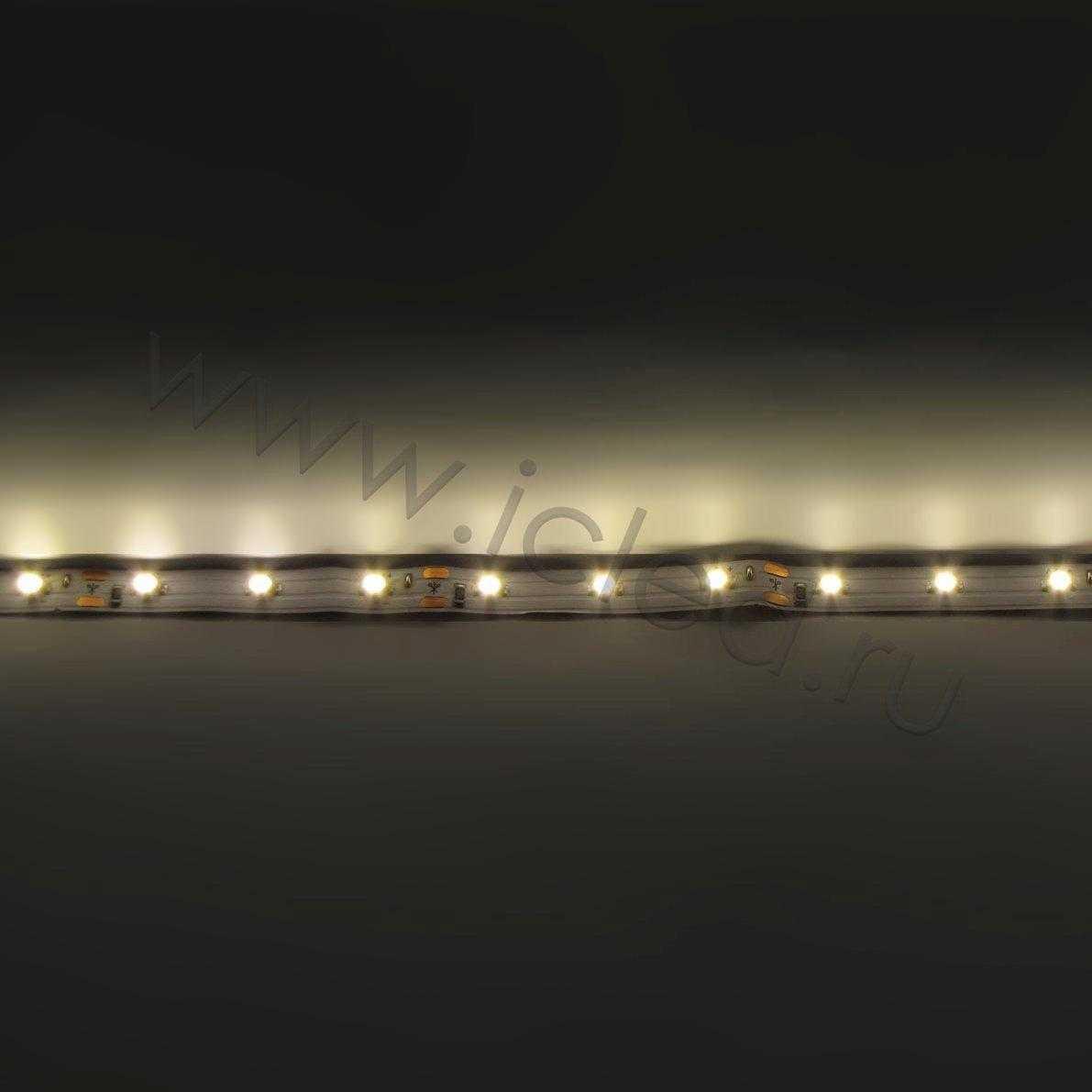Светодиодная лента Class High, 3528, 60 led/m, White,12V, IP33.