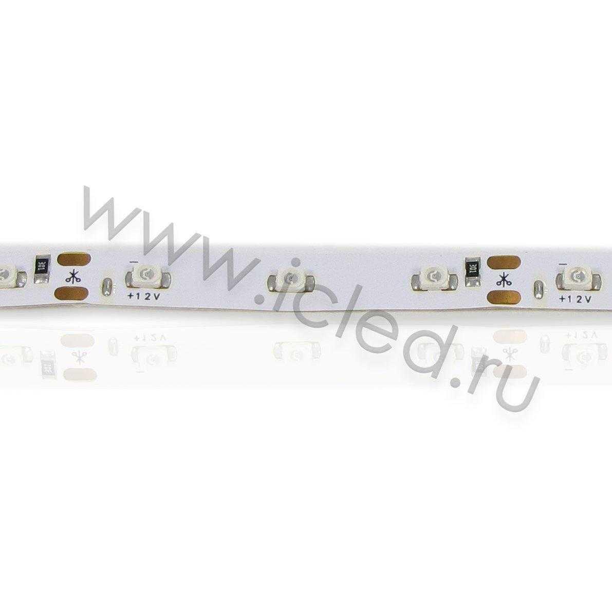 Светодиодная лента Econom class, 3528, 60led/m, Yellow, 12V, IP33