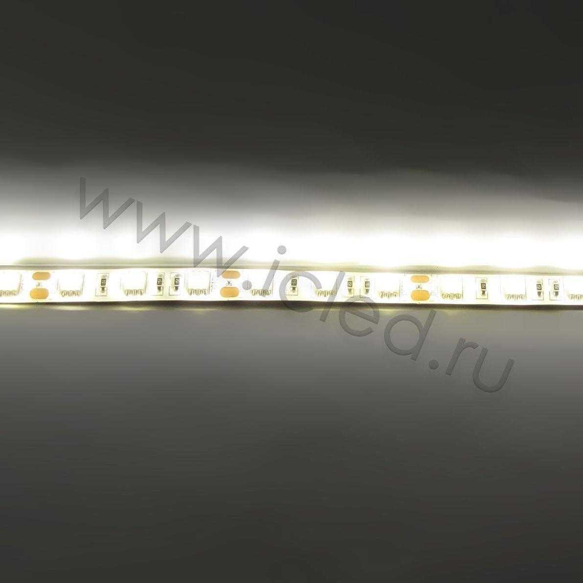 Светодиодная лента Econom class, 3528, 60led/m, Yellow, 12V, IP65