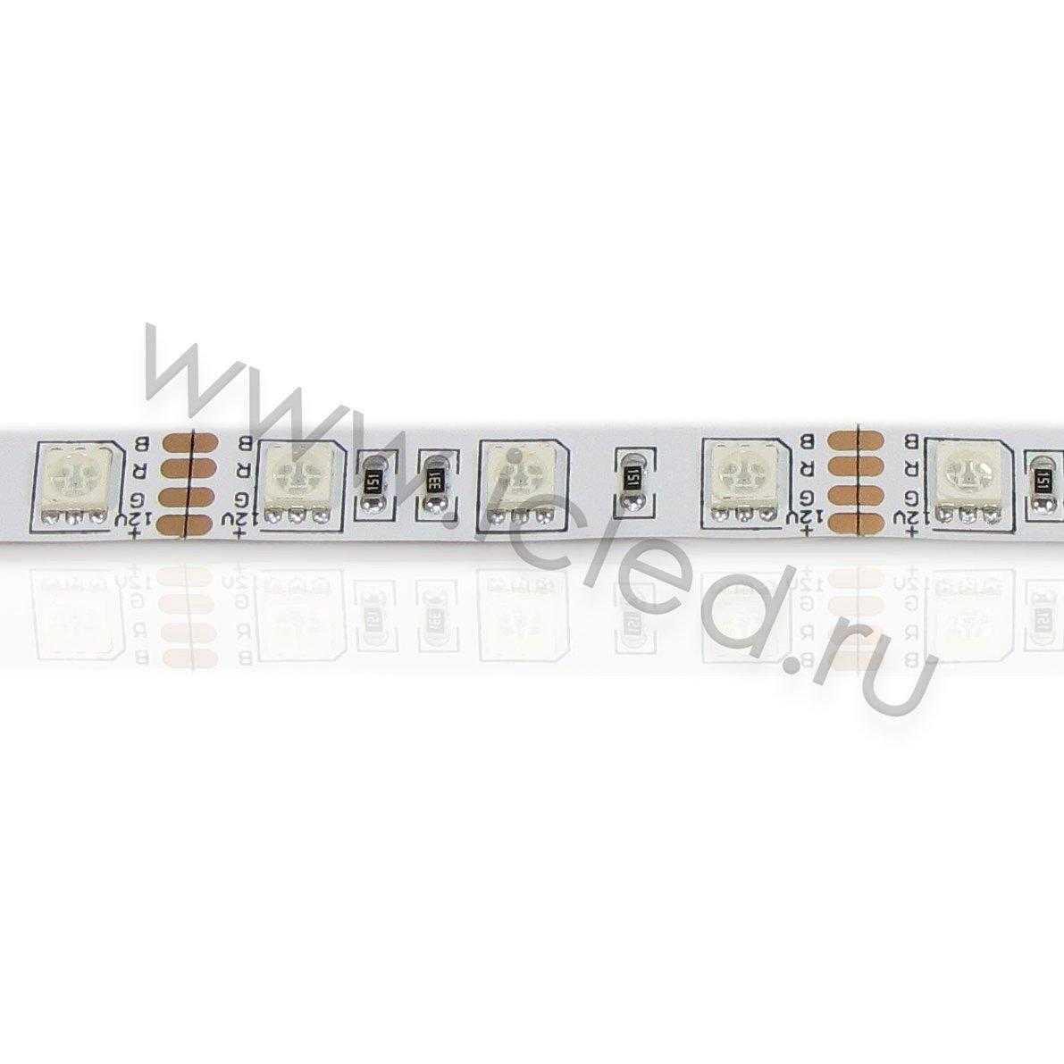 Светодиодная лента Econom class, 5050, 60led/m, RGB, 12V, IP33