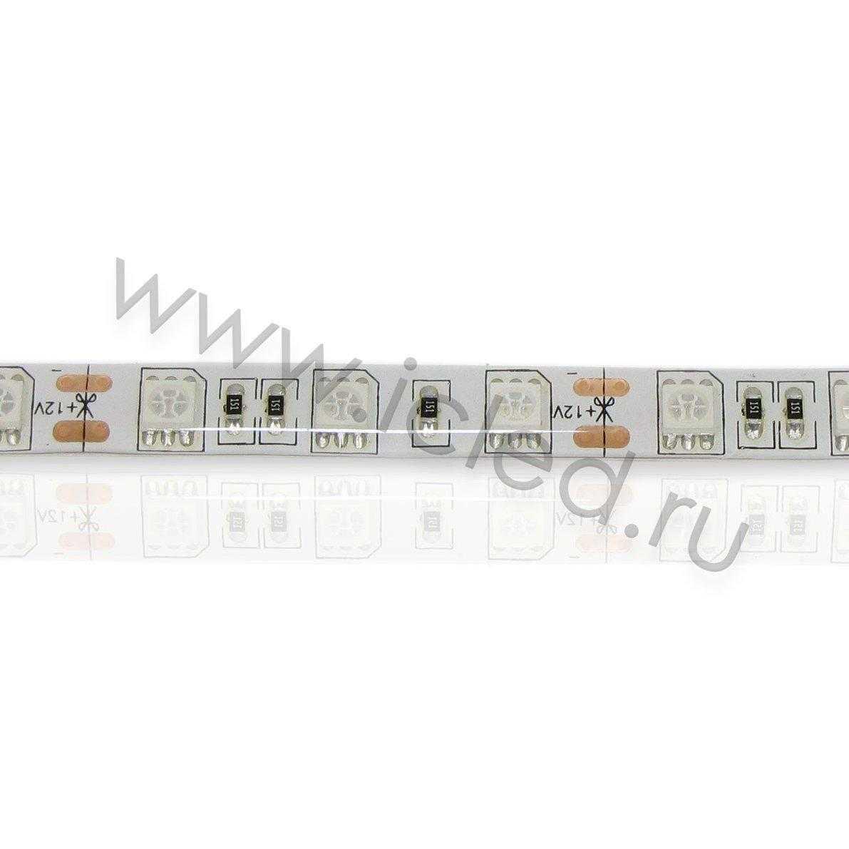 Светодиодная лента Econom class, 5050, 60led/m, Blue, 12V, IP65