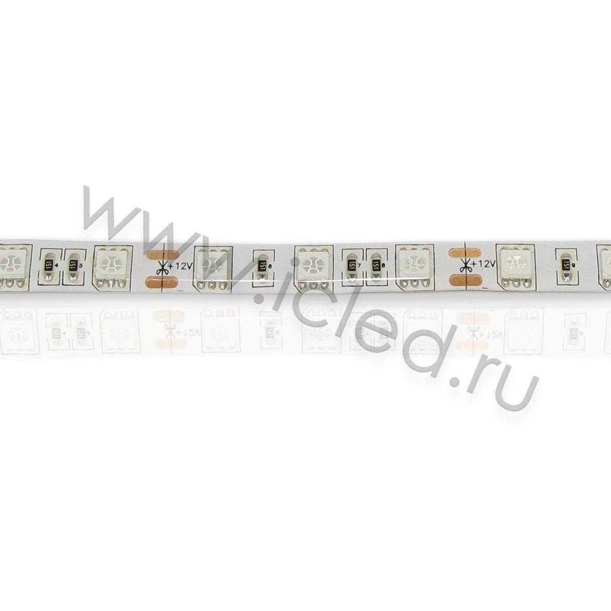 Светодиодная лента Econom class, 5050, 60led/m, Green, 12V, IP65