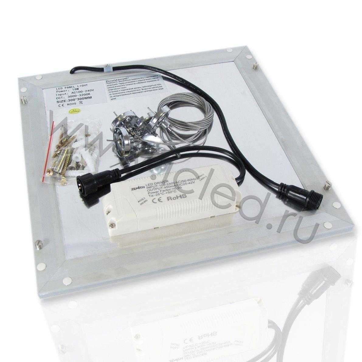 Светодиодная панель S L300 DIAMOND (18W, 220V, White)
