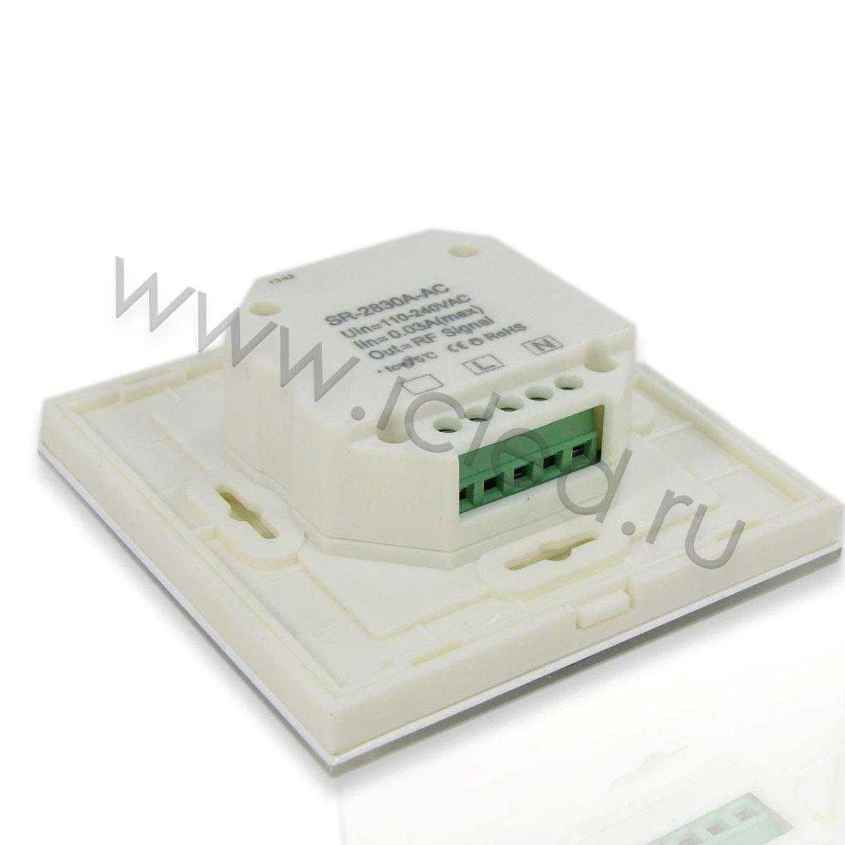 Сенсорная панель диммер SR-2830A-AC WIFI (4 зоны)