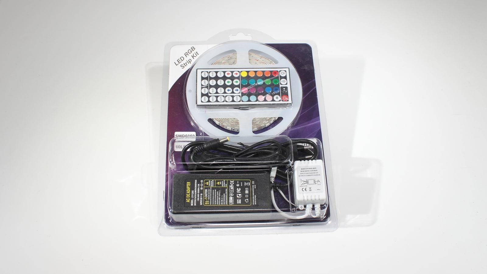 Набор светодиодной ленты RGB с контроллером