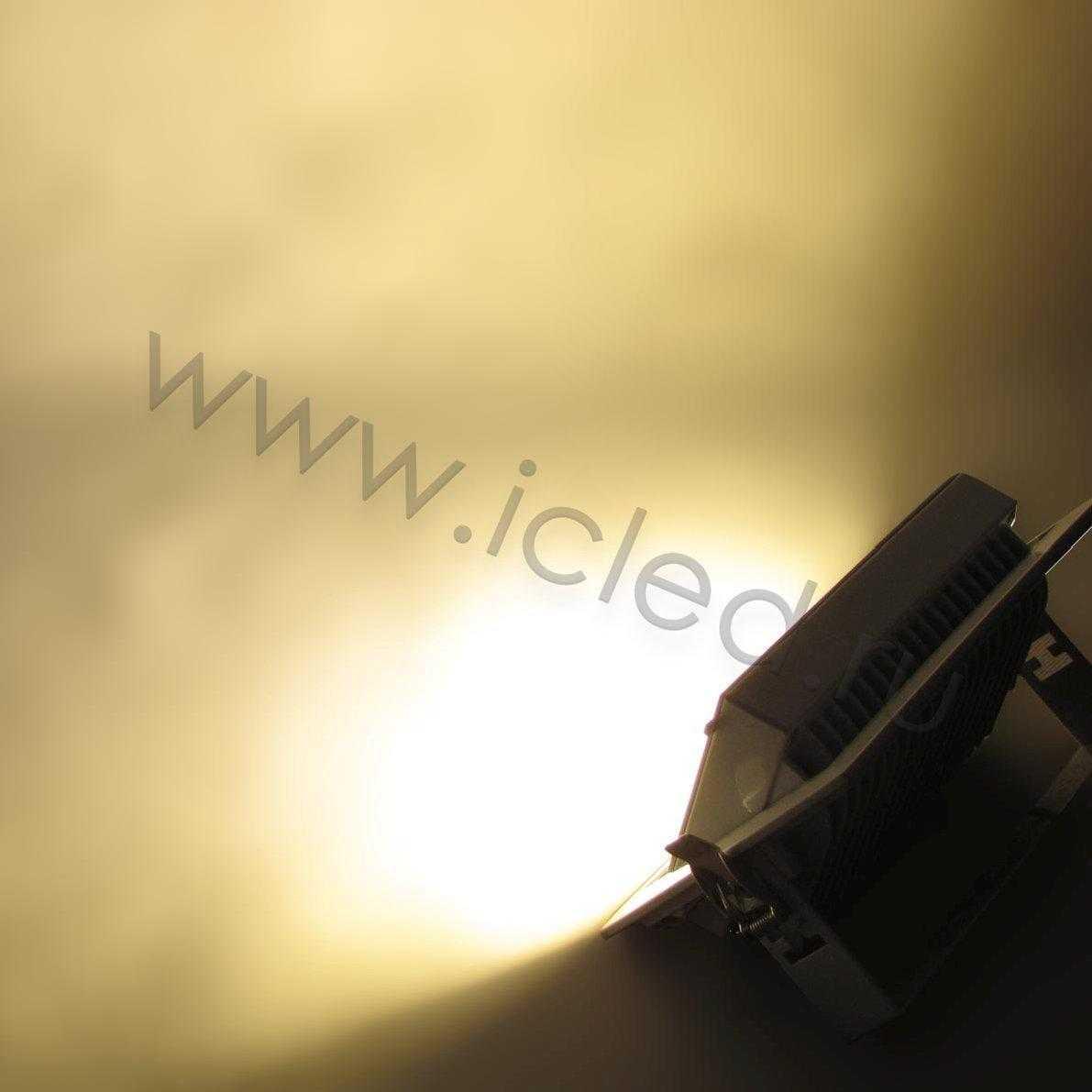 Встраиваемый потолочный прожектор (20W, 220V, Warm White)