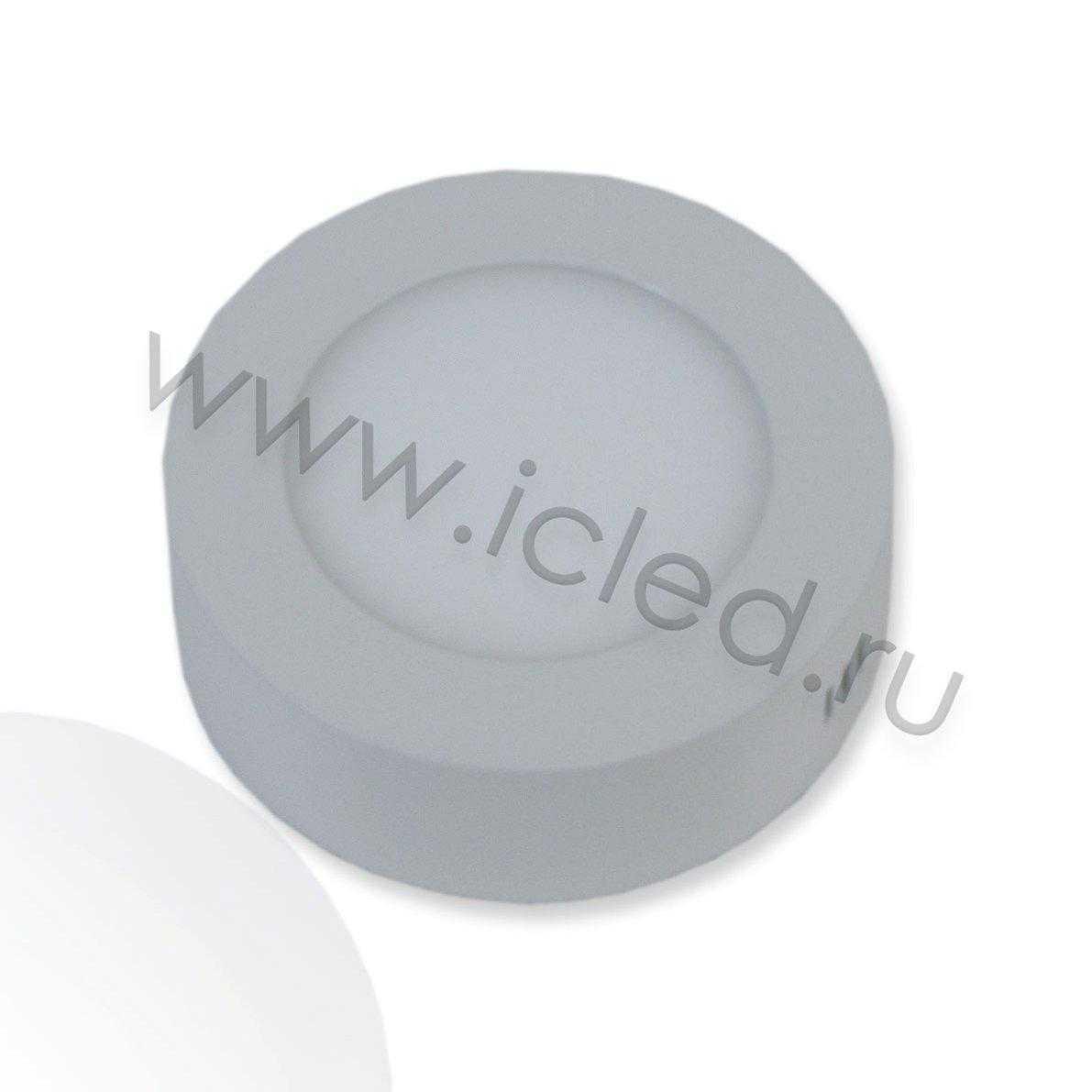 Светодиодный светильник R D110 (6W, White)