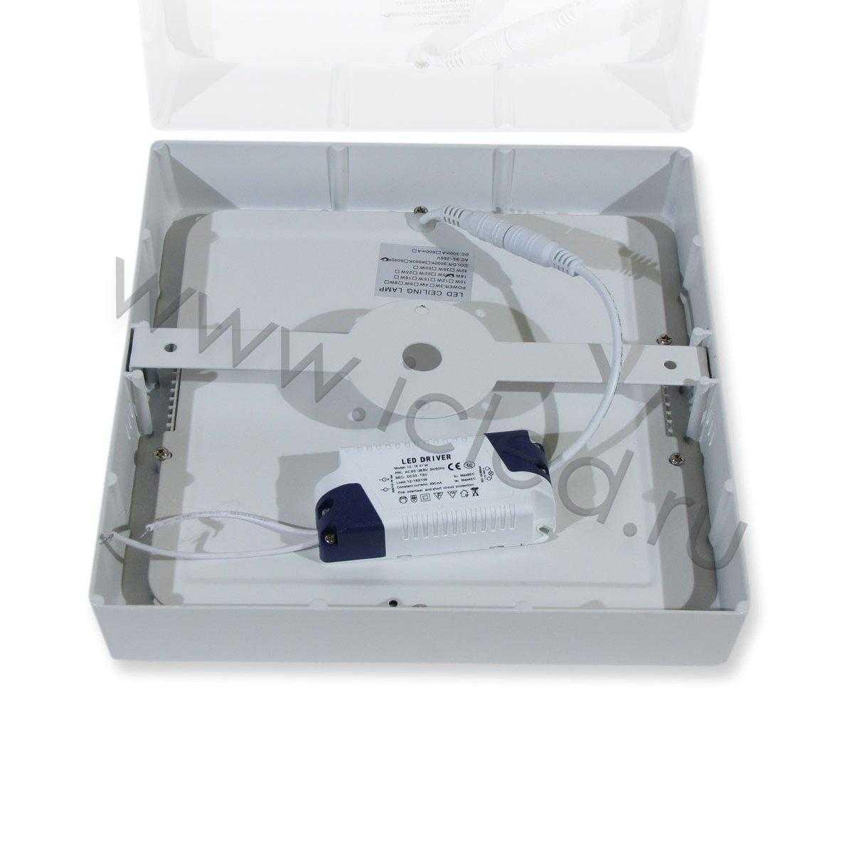 Светодиодный светильник S L230 (18W, White)