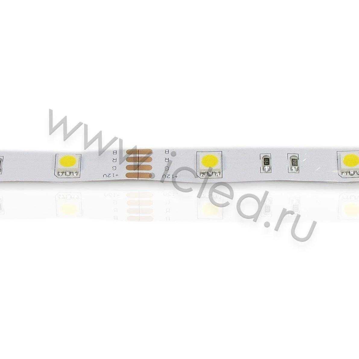 Светодиодная лента Econom class, 5050, 30led/m, Warm White, 12V, IP33