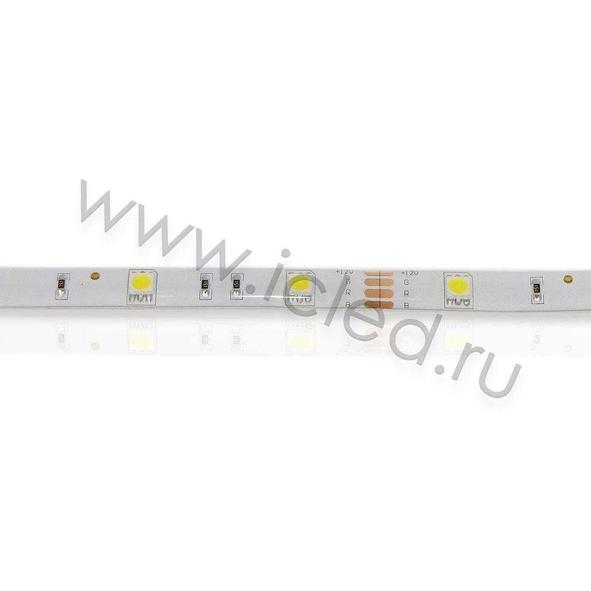 Светодиодная лента Econom class, 5050, 30led/m, Warm White, 12V, IP65