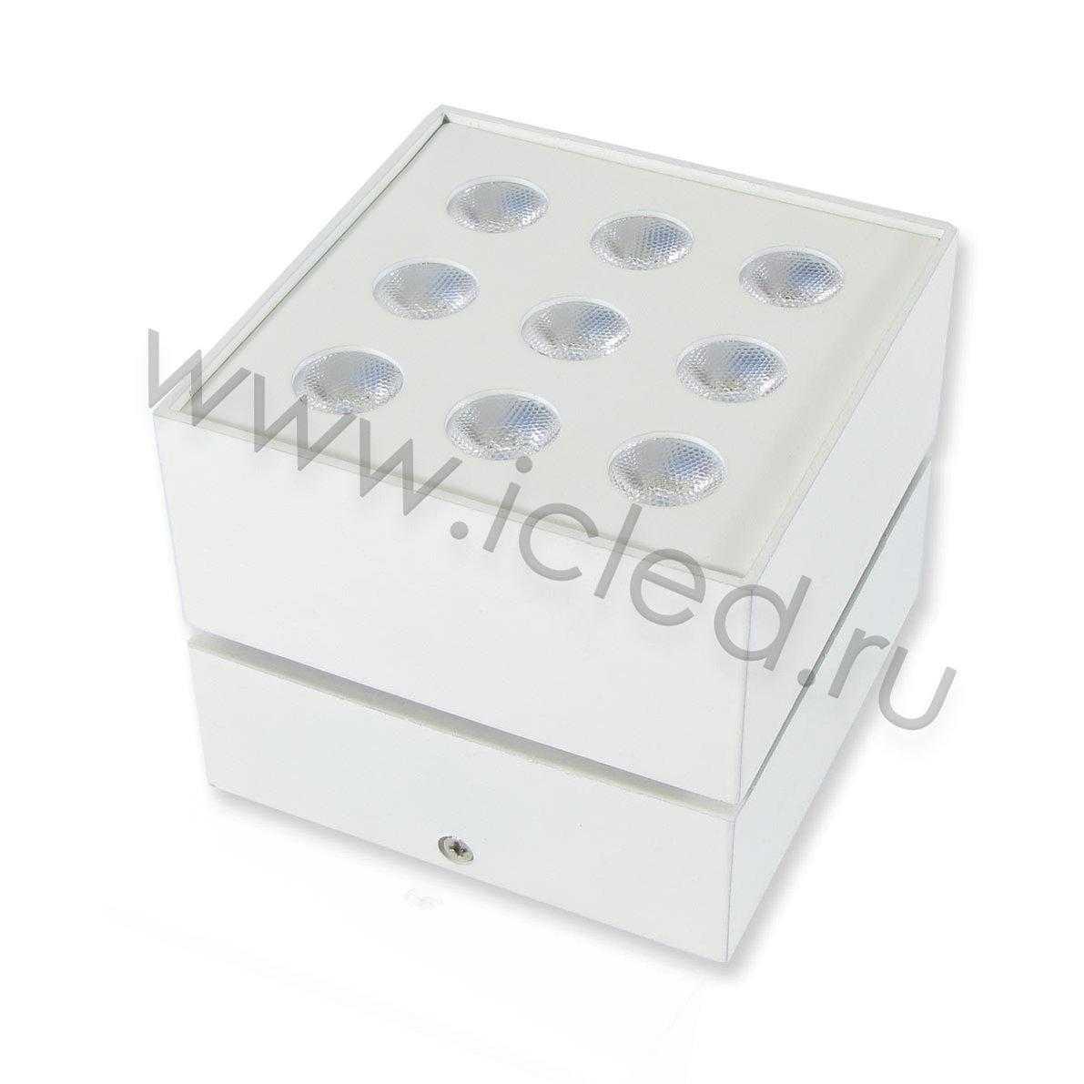 Накладной светодиодный светильник SW (9W, Day White)