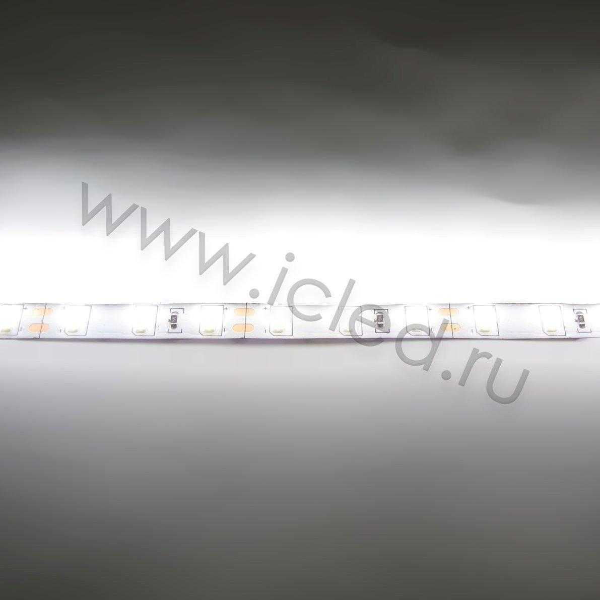 Светодиодная лента Class B, 5630, 60led/m, Day White, 35Lm,12V, IP33